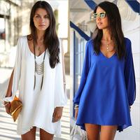 Women's Shirts Fashion Bat Sleeve Chiffon Shirts Blouse More Colors  Slim Casual Blusas Feminina Woman Tops