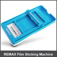 100Pcs REMAX Cellphone Automatic Film Sticking Machine Smartphone Screen Sticking Machine for Iphone/HTC/LG /Nokia/Samsung
