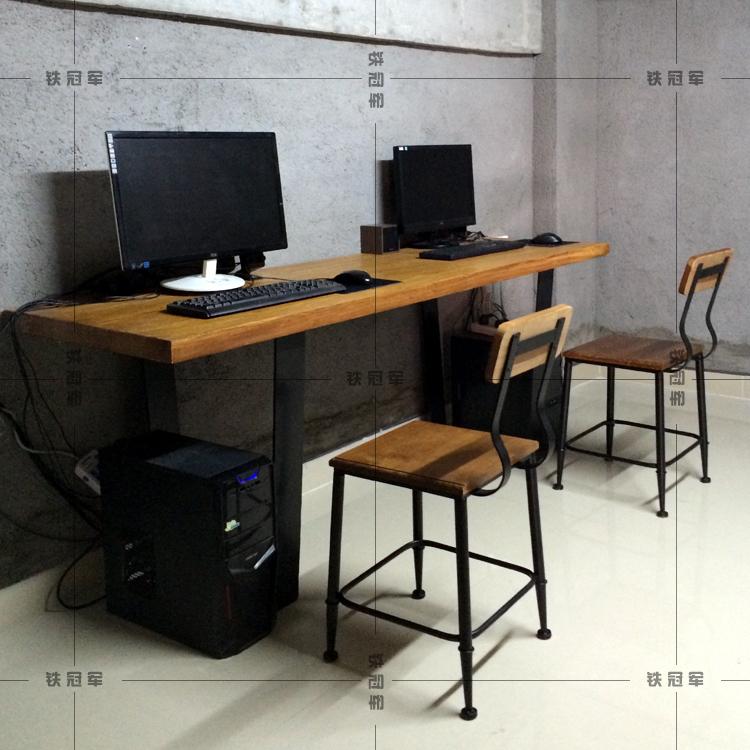 american iron schreibtisch holz esstische und st hle. Black Bedroom Furniture Sets. Home Design Ideas