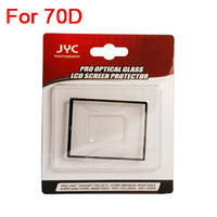 Fits for CAN0N 70D DSLR Camera LCD Screen Protector Optical Glass LCD Cover Accessories