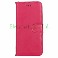 High Quality  Waxed PU Leather Magnetic Flip Wallet Stand Case Cover with Card Slots for iPhone 6 4.7''
