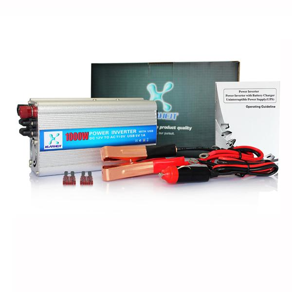 1000W Car Power Inverter DC 12V to AC 110V Inverter Modified Sine Wave USB Adapter Charger Converter Transformer(Hong Kong)