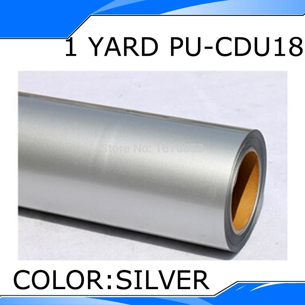 50CMX100CM Silver PU Heat Transfer Film Vinyl(China (Mainland))