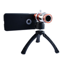 APEXEL HOT 17X  Optical zoom Telescope lens for iPhone 6 plus with tripe 3-in-1 17X lens+tripod+ case for iphone 6 plus CL-44IP6