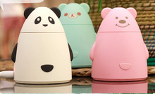 Blue Panda Humidifier Aroma Diffuser Aromatherapy Air Purifier LED USB Mist Discharge Super Quiet(China (Mainland))