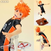 Anime Cartoon Haikyuu!! Hinata Syouyou 1/8 Scale PVC Action Figure Collectible Toy 17CM