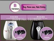3D Mini Digital Sublimation Vacuum Heat Press Machine for Mugs, phone cases, plates Combo