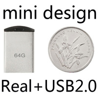 2015 New Super tiny Waterproof Mini USB Flash Drives 64GB 32GB 16GB 8GB pen drive flash card pendrives tiny Thumbdrive Gift 2.0