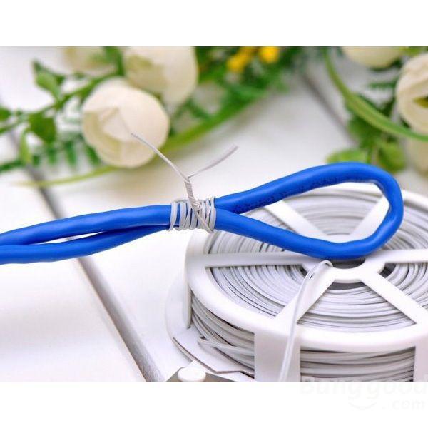 OnlineDich Metal Tied Rope Twist Tie Garden Tool(China (Mainland))