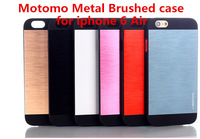 Phone Case for iPhone 6 Motomo Brushed Metal Aluminum mobile phone bags & cases cover for iphone6 Air New Arrive 2014