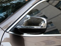 Chrome Rearview Side Door Mirrors Cover Trim For BMW X3 F25 2011 2012 2013