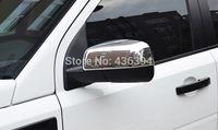 ABS Chrome Side Mirror Cover Trim For Land Rover Freelander 2 2012-2015