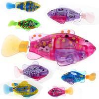 2015 New LED Novel Robofish Electric Toy Robo Fish,Emulational Toy Robot Fish,Electronic Pets Creative Baby Toys SV013195