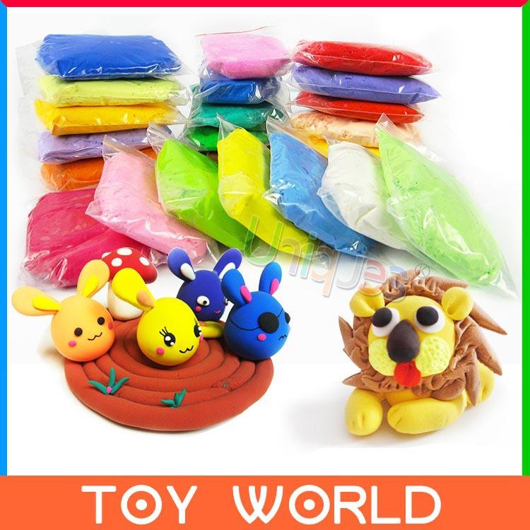8pcs Playdough Play Doh Fimo Polymer Clay Jumping Air Dry Clay DIY Foam Plasticine Blocks Soft Modeling Clay Educational Toy(China (Mainland))