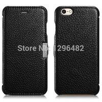 Newest Elegant Design Original Luxury Handmade Genuine Leather Flip Cover Case For iPhone 6 4.7 inch