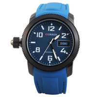 CURREN Men's Casual Sport Watch Waterproof Man Quartz Wristwatch Men Watches relogio 3 COLORS