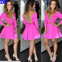 Vestidos 2015 New Women Dress Sexy Sheer Mesh Evening Party Dresses Causal Summer Dress S-XL Plus Size Women Clothing Wholesale