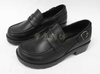 Hot sale G2 Hot Round Japanese College Wind uniform shoes big boy shoes COS performances