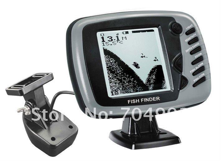 2015 New Big Screen Boat Fish Finder Sonar Good Gray Fish Finder English Menu For Fishing Lovers Tools(China (Mainland))