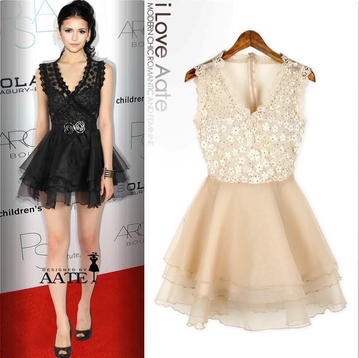 White Lace Dress Black And White Lace Dress