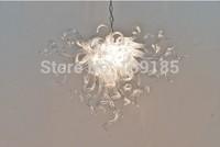 AC 120v/240v LED Bulbs Pure Hand Blown Light Fixture Glass