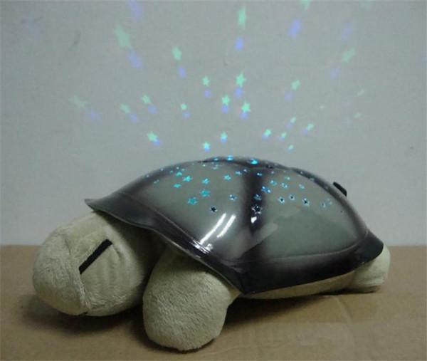 HOT Brand New Fun Lamp Turtle Light Novelty Products Music Turtle Tortoise The 2nd Night Light Star Turtle For Baby Sleeping(China (Mainland))