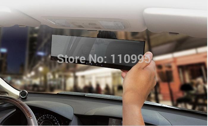 4.3inch monitor Dual camera car DVR event recorder with GPS G-sensor(China (Mainland))