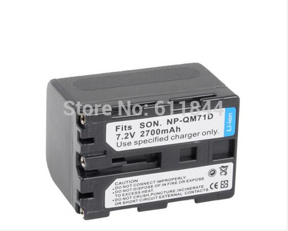 wholesale cheap NP-QM71D Battery for SONY Digital Camera 1pcs/lot(China (Mainland))