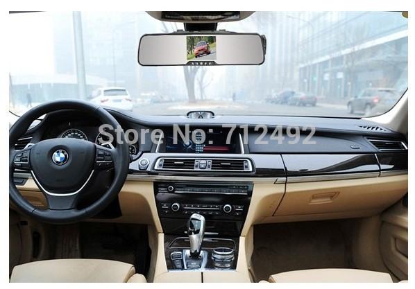 kodolo 3.5 inch car rearview mirror & bluetooth handsfree car kit & wireless camera for reversing & car black box(China (Mainland))