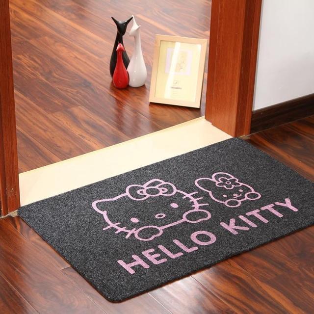 Baño One Piece Trebol:2015 nuevo producto impreso Hello Kitty felpudo dormitorio pasillo