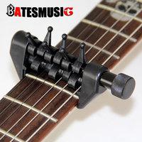 Black Flanger Flexi-Capo Portable Alternative Tuning Capo for Guitar Accessories