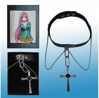 Moka Akashiya Necklace Akashiya Cross Necklace