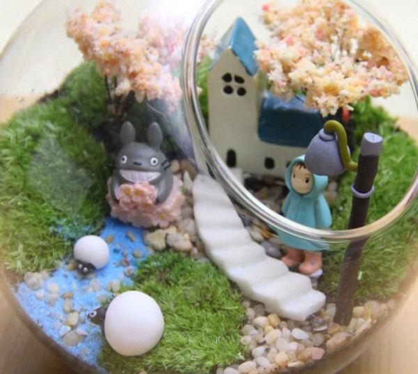 Resin Crafts Decoration Jardin Miniature Despicable Me Minions ...