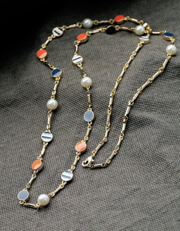 IB5020 navy colorful channels Women Fashion Jewelry designer inspired Luxury statement necklace & pendant choker bib collar(China (Mainland))