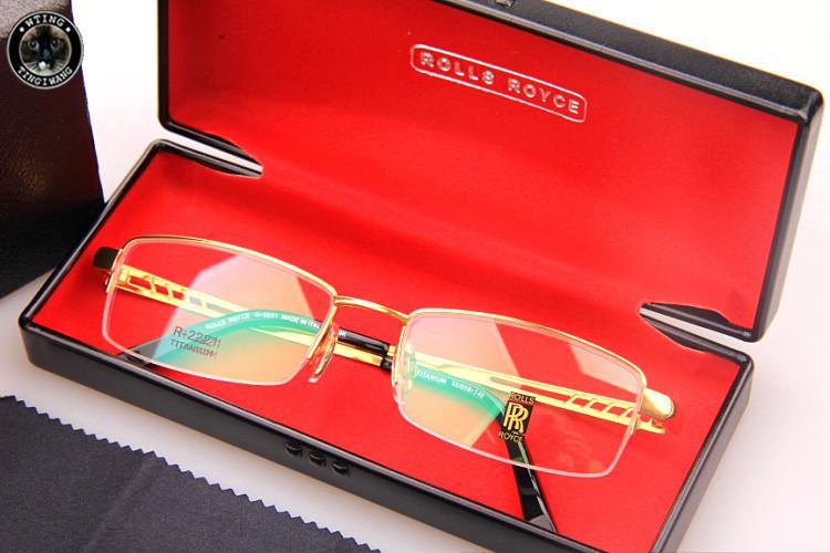 2015 New Trending style frame eyeglasses spectacle prescription clear lens glasses men women optical Brand Rolls-Royce Eyewear(China (Mainland))