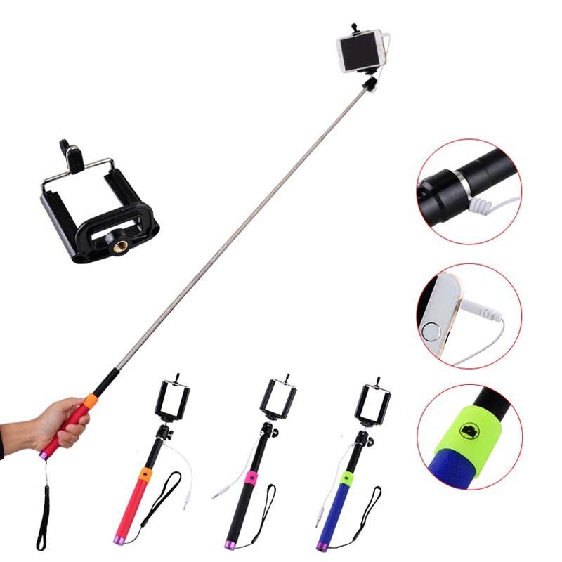 Держатель для мобильных телефонов Monopod Selfie + iPhone Samsung Selfie Stick держатель для мобильных телефонов samsung s5 i9600