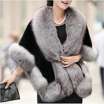 2015 женский норки шаль лисий мех пальто верхняя одежда норки рукавов шали шерсти