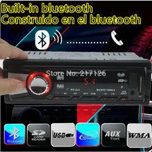 2015 1 DIN 12 В стерео FM радио MP3 Bluetooth аудио плеер со встроенным Bluetooth телефон W / USB / SD MMC порт автомобильная электроника в тире