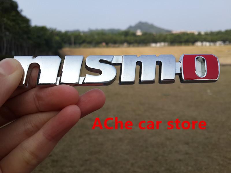 10pcs/lot Free shippin 3D NISMO sticker badge emblem car logo Car styling auto accessories(China (Mainland))