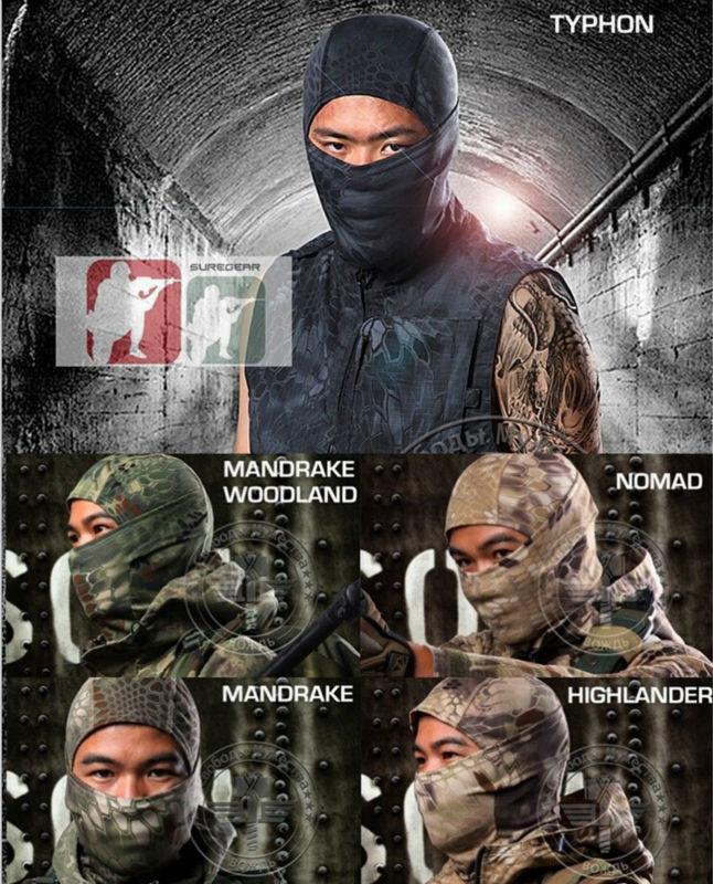 New Type Tactical Military Outdoor Quick-drying Hood Face Mask Protection Balaclava Hood Mask Mens MR/Banshee/Typhon/Desert(China (Mainland))