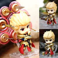 Anime Fate/stay night Nendoroid Gilgamesh 410 PVC Action Figure Collectible Model Toy 10CM