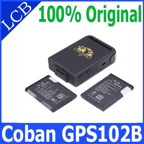 GSM/GPRS Motorcycle MOTO DE Car GPS Traker For Personal Elderly Rastreador Brand COBAN gps tracker TK102B GPS Tracking Device(China (Mainland))