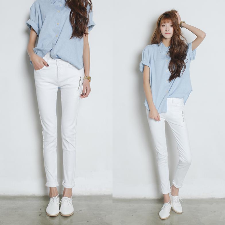 Женские джинсы Jeans DK ] Zip #0210 женские джинсы women jeans dk ] 2015 0165