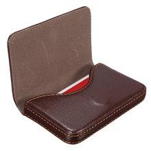 Mini Short Leather Business Credit ID Card Holder Wallet Storage Pocket Case