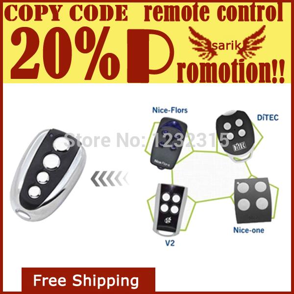 Clone Brand remote control,Door Lock wireless remote control duplicator rolling code(China (Mainland))