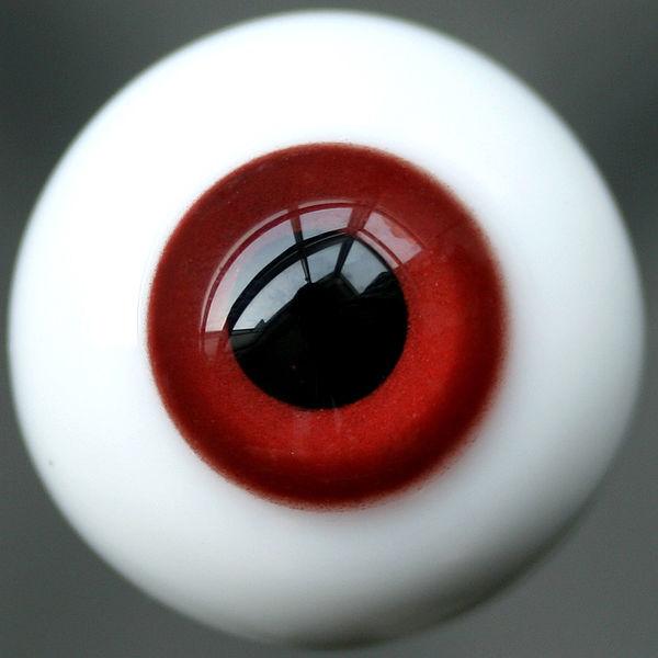 [ Wamami ] Y39 # 8 мм яркие красные глаза для бжд кукла Dollfie стеклянные глаза