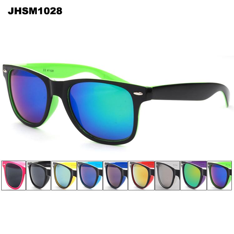 neon wayfarer sunglasses cheap