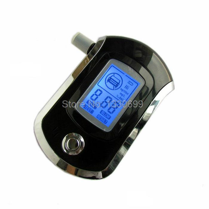 Digital LCD Alcohol Breath Analyzer High Precision Professional Breathalyzer Blow Alcohol Tester Portable Alcohol Testing Tools(China (Mainland))