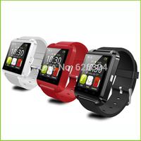 New 2015 Bluetooth Smartwatch U8 WristWatch U8 U Wrist Wrap for iPhone 4S/5S/6Plus Samsung S4/Note3 HTC Mate Android Smartphone