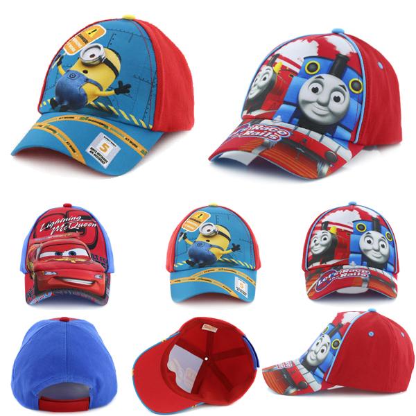 fashion 2015 children felt fitted sun hats boys coll summer cartoon caps cartoon kids boys baseball caps(China (Mainland))